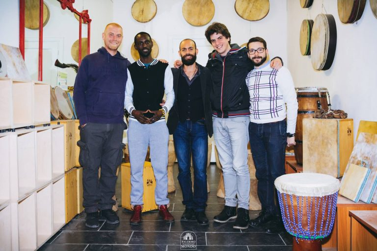 """Bottega delle Percussioni"" - African drumming academy (Palermo, Italy)"