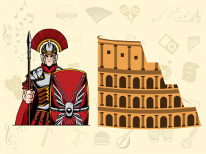 sound and history of the roman cornu