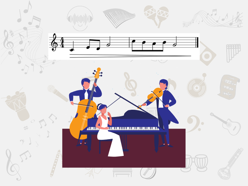 musicians playing in diminuendo