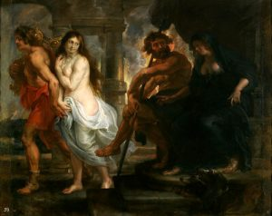 orpheus brings eurydice out of the underworld