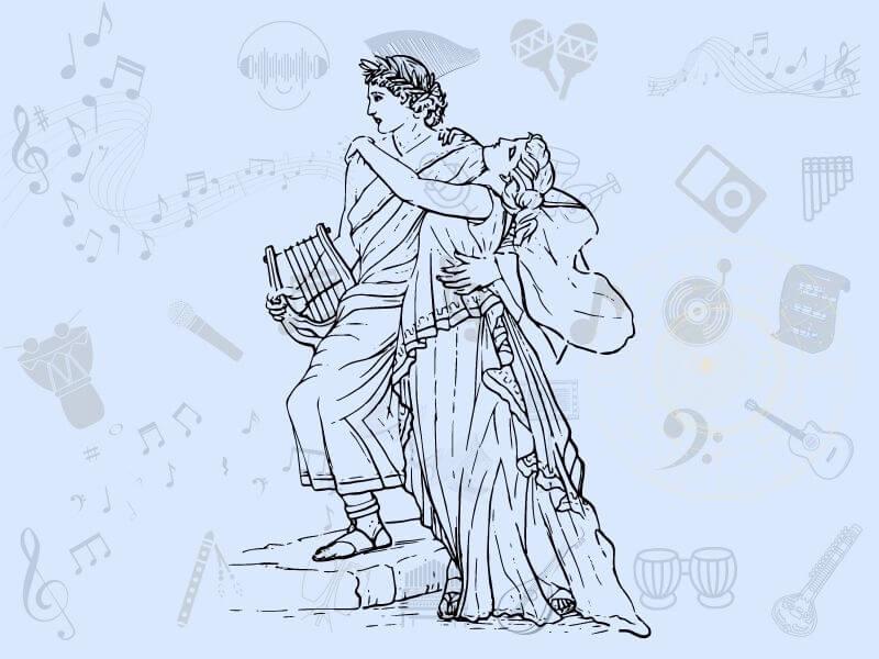 lyra constellation and the myth of Orpheus
