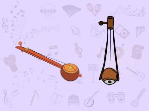 Ektara: gopichand, tumbi and tuntuna